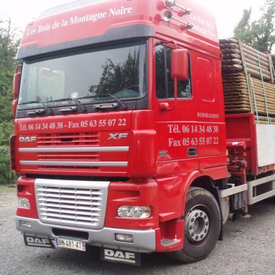 Livraison rapide dans toute la France avec nos propres camions